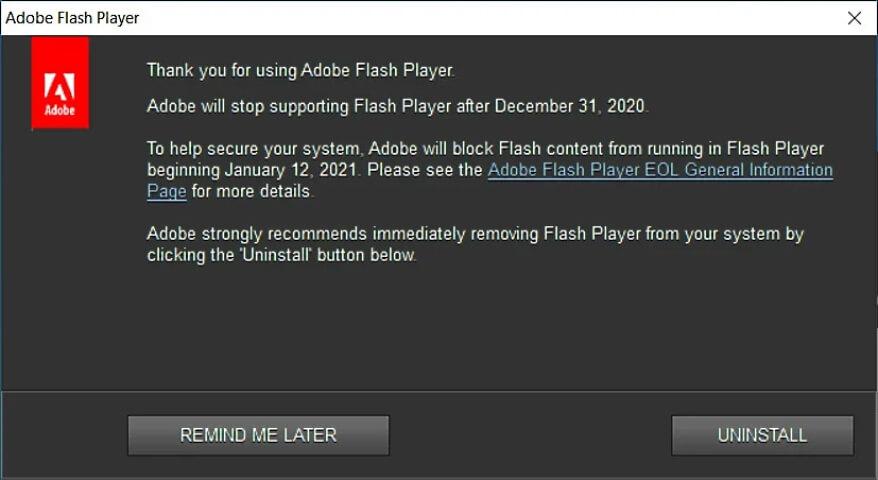 flash oyunlar tarih oluyor 1 - 2021, Flash Tabanlı Uygulama ve Oyunların Ölüm Yılı Oldu!