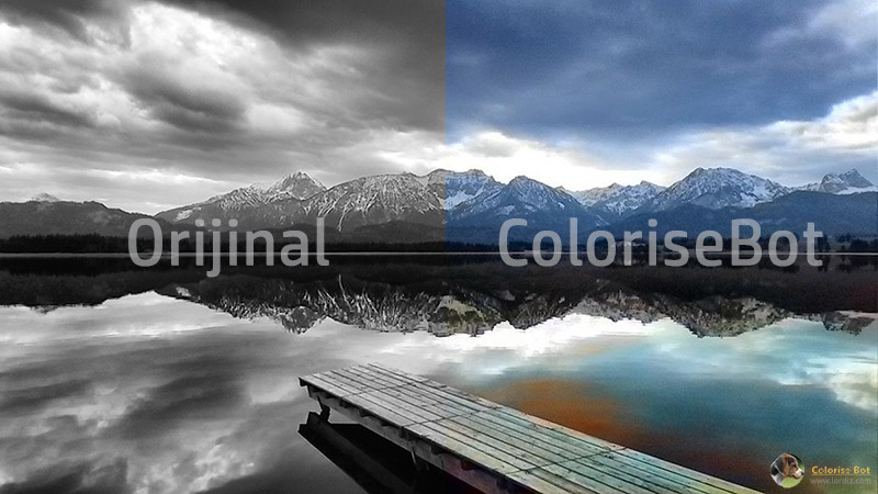 Siyah Beyaz Eski Fotoğraflarınızı Ücretsiz Renklendirin
