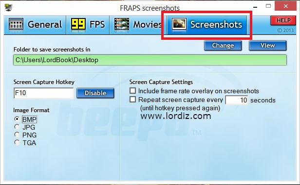 fraps2 zps6e484331 - Oyunlardan Ekran Görüntüsü Alma Programı