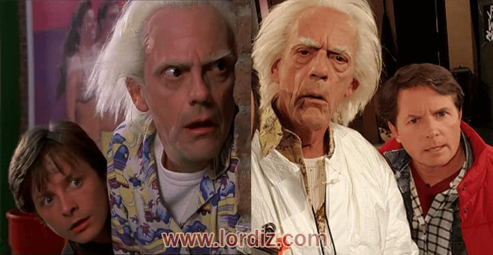 gecmis gelecek zps7cic44mb - Geleceğe Dönüş; Marty McFly ve Doktor Brown Tekrar Bir Arada