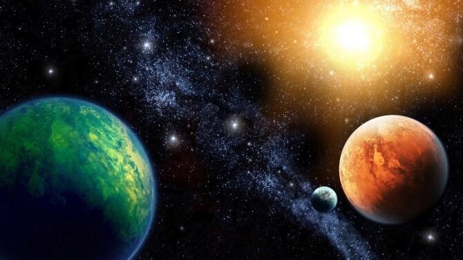 Evrende Yaşanabilir 361 Gezegen Var!