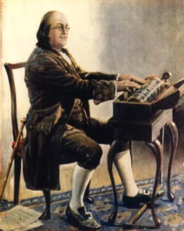 """Benjamin Franklin'in Delirten Enstrümanı """"Glass Armonica"""" - muzik-kutusu"""
