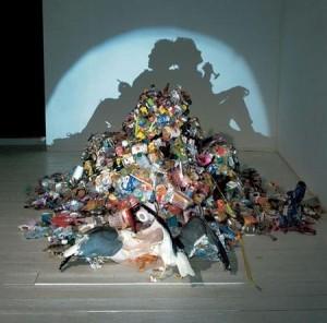 Tim Noble ve Sue Webster'dan Çöp Gölge Sanatı