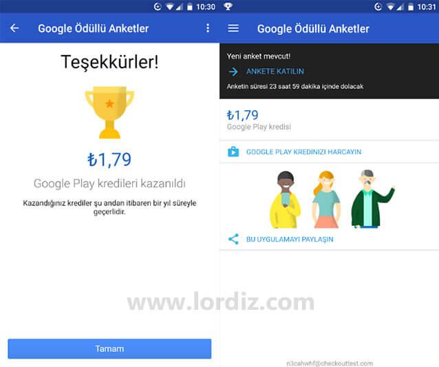 google anketler para kazan zpshc8sakhq - Google'un Ödüllü Anketleri ile Para Kazanın