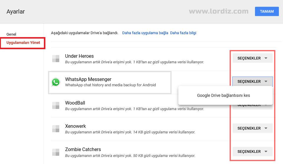 Google Drive'daki Android (Telefon-Tablet) Yedeklemeleri Nasıl Silinir? - internet-siteleri, google-play