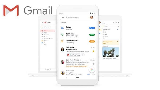 google gmail - Gmail Mobil Uygulamasına Farklı Mail Hesapları Ekleme