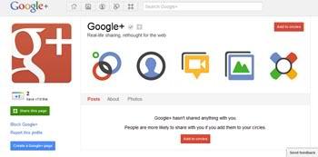 Google+'da Marka Sayfası Oluşturmak