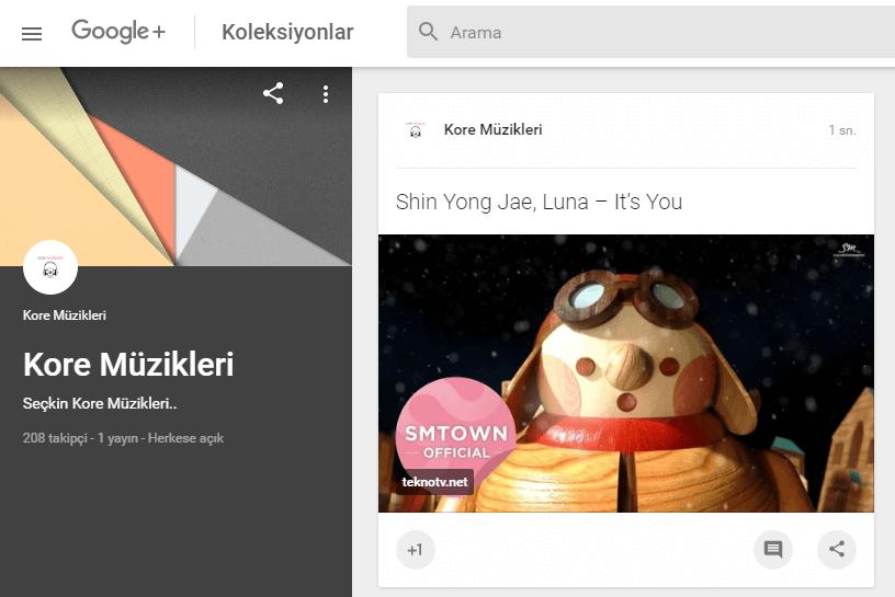 Google+'da Koleksiyon ve Topluluk Sayfası Oluşturma