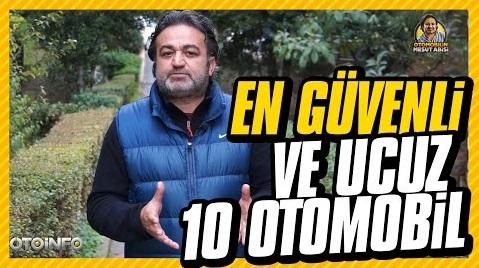 Türkiye'de Satılan Güvenli ve Ucuz Arabalar