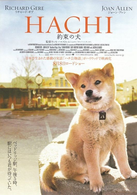 """hachikoadogsstory129293 - Gerçek Hayattan Bir Köpeğin Hikayesi """"Hachiko"""""""