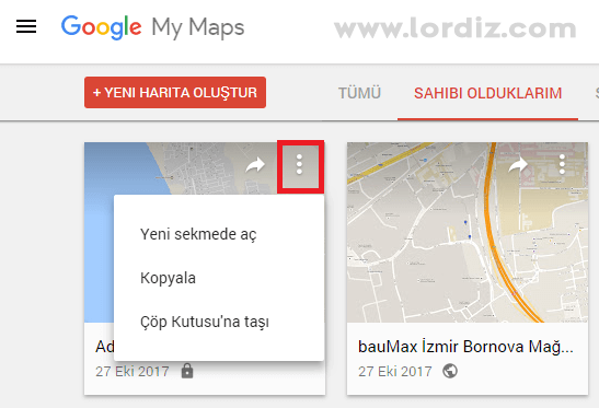 harita gorunum cop - Google Haritalar: Harita ve Konum Geçmişi Silme