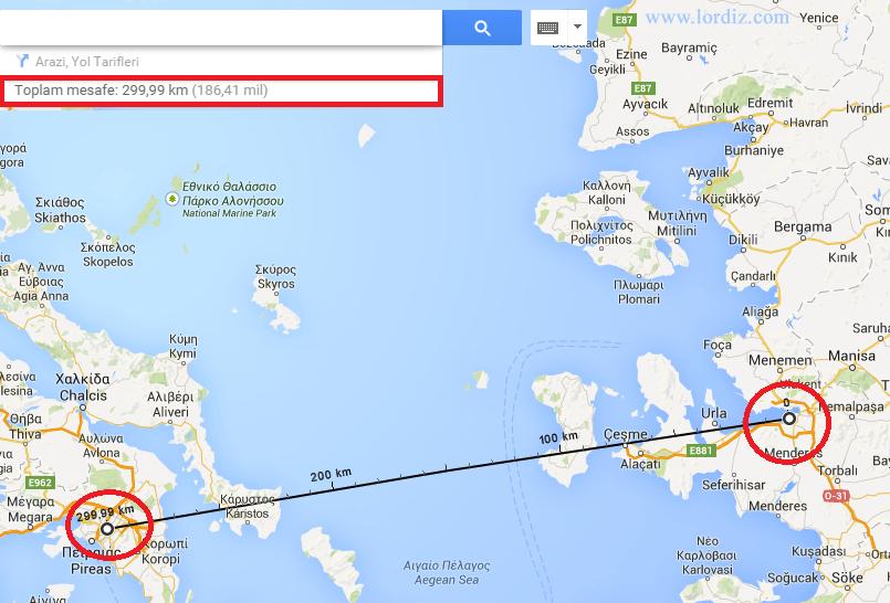 Google Haritalarda Mesafe Ölçümü Nasıl Yapılır? - internet-siteleri