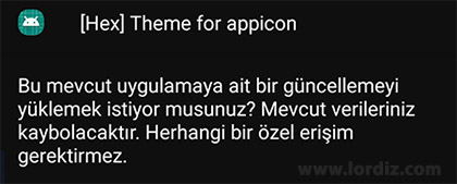 hex theme for appicon - Hex Installer ile Kendi OneUI Temanızı Oluşturun! [Ücretli Uygulama]