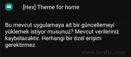 hex theme for home - Hex Installer ile Kendi OneUI Temanızı Oluşturun! [Ücretli Uygulama]