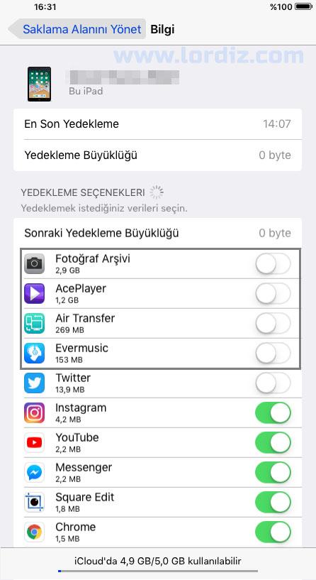 iCloud Saklama Alanınızda Kullanılabilir Alan Azaldıysa Ne Yapmalısınız? - elma-dunyasi