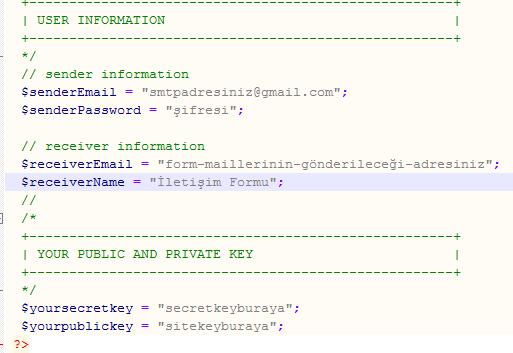 iletisim config zps4oja8tmo - Smtp ve ReCaptcha Özellikli Ücretsiz Php İletişim Formu