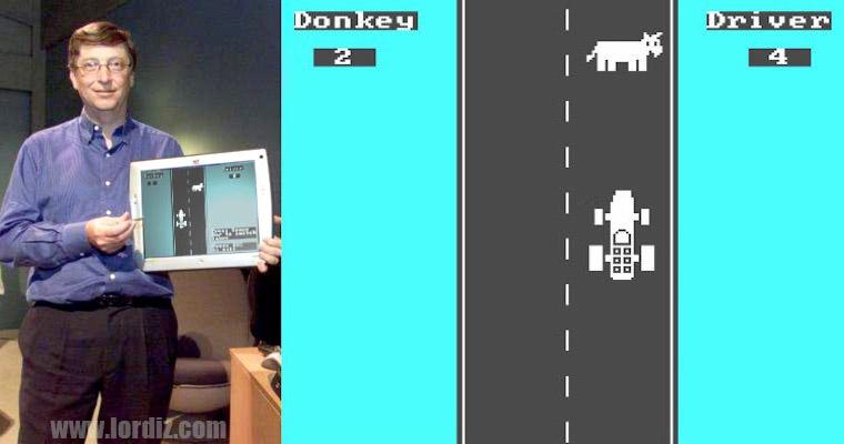 """Bill Gates'den Dünyanın İlk Bilgisayar Oyunu """"Donkey.bas"""""""