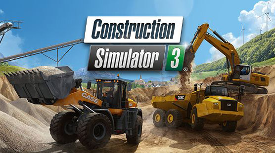 "İnşaat Simülasyon Oyunu ""Construction Simulator 3"""
