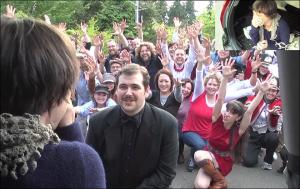 Youtube'da 30 Milyon Kez İzlenen Harika Evlenme Teklifi