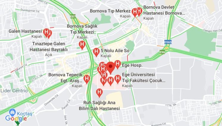 izmir bornova hastane civari kiralik esyali - Bornova Hastaneler Civarı Kiralık Eşyalı Daire, Rezidans ve Otel Fiyatları!