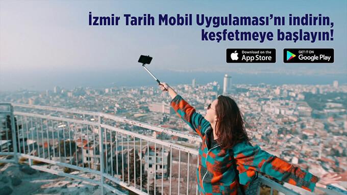 """İzmir'in Tarihi Yerleri """"İzmir Tarih"""" Uygulaması ile Elinizin Altında"""