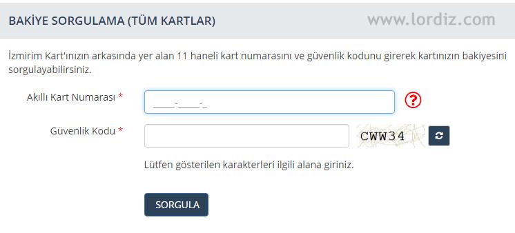 İzmirim Kart (Kentkart) Bakiye Sorgulama ve TL Yükleme - cep-telefonu-teknoloji-haber, internet-siteleri