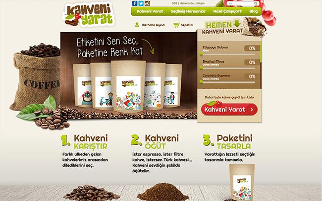 """Türkiye'nin İlk Online Kahve Sipariş Sitesi """"Kahveniyarat.com"""""""