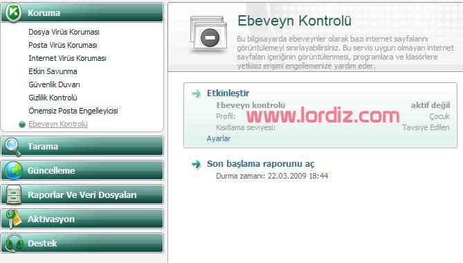 "Kaspersky ""The requested URL http://www. is forbidden"" Hatası - windows-destek"