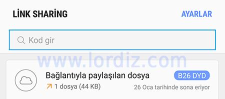 Samsung Link Sharing Nedir? Nasıl Kullanılır? - cep-telefonu-teknoloji-haber, download-yazilari, google-play