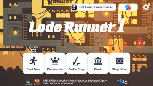 """""""Lode Runner"""" Efsanesi Mobil Platformlar ile Yeniden Doğdu"""
