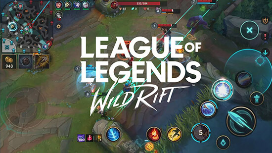 "League of Legends Mobil Oyunu ""League of Legends: Wild Rift"""