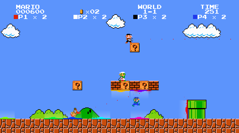 Portal Silahı ile Mario Oynama Keyfi