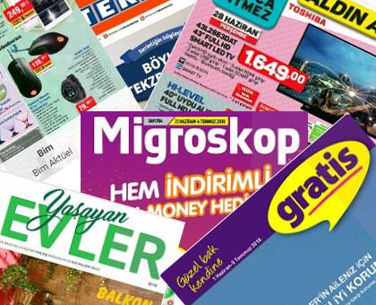 Tüm Market Broşürleri, İndirim Katalogları Tek Bir Yerde! - internet-siteleri