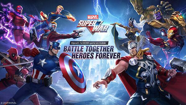 """Marvel'ın Süper Kahraman Moba Oyunu """"MARVEL Super War"""""""