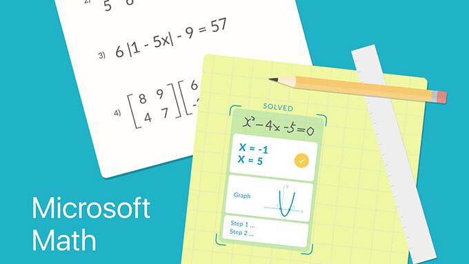 Ücretsiz Microsoft Matematik Problemi Çözme Uygulaması