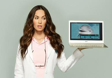 Megan Fox'lu Acer Aspire S7 Ultrabook Reklamı