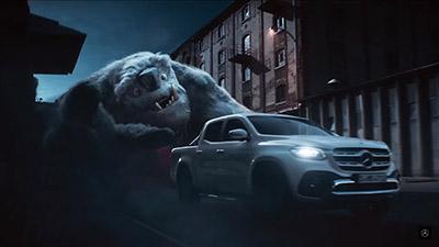 Mercedes X-Class Reklam Filmi ve Reklam Müziği