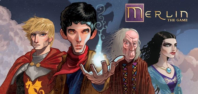 Sevilen Dizi Merlin'in Ücretsiz Facebook Oyunu
