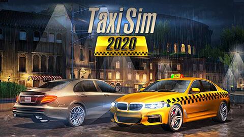 """En İyi Mobil Taksi Simülasyon Oyunu """"Taxi Sim 2020"""""""