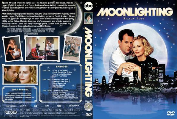 """Gençliğimizin Dizisi """"Mavi Ay"""" (Moonlighting)"""