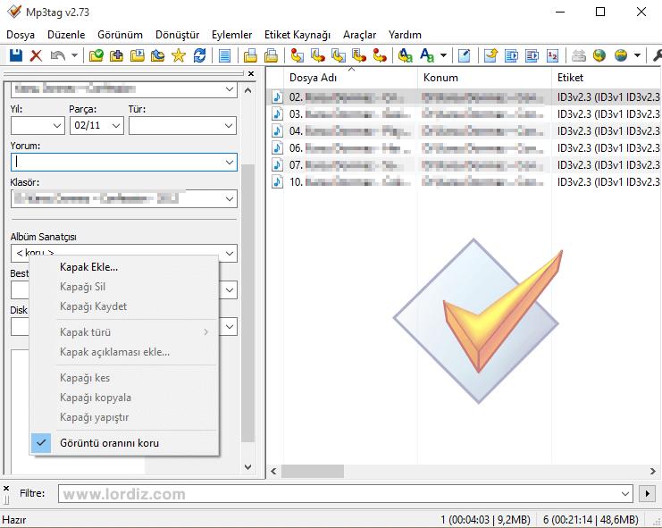 mp3 tag edit zpsfldsrolg - Mp3 Bilgilerini ve Albüm Kapağını Değiştirme