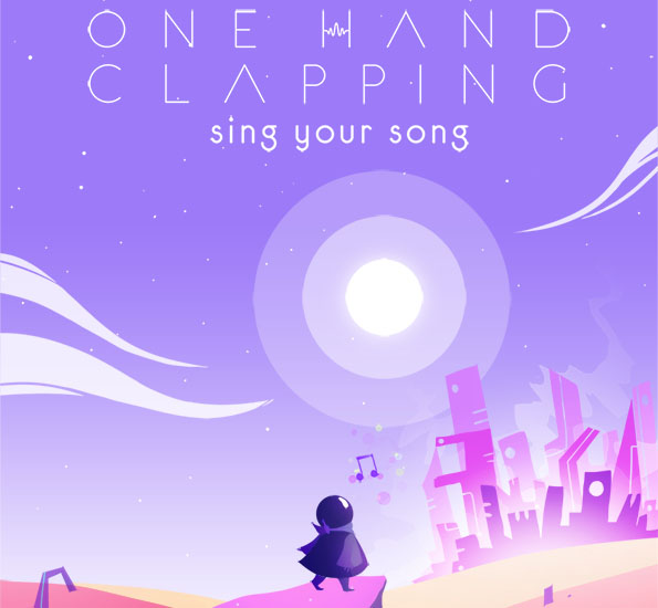 """Sesiniz ile Oynayabildiğiniz Müzikal Platform Oyunu """"One Hand Clapping"""""""