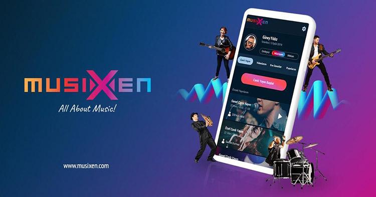"""muzisyen dj platformu musixen - DJ, Müzisyen ve Sahne Sanatçıları için Twitch Alternatifi Platform """"MUSİXEN"""""""