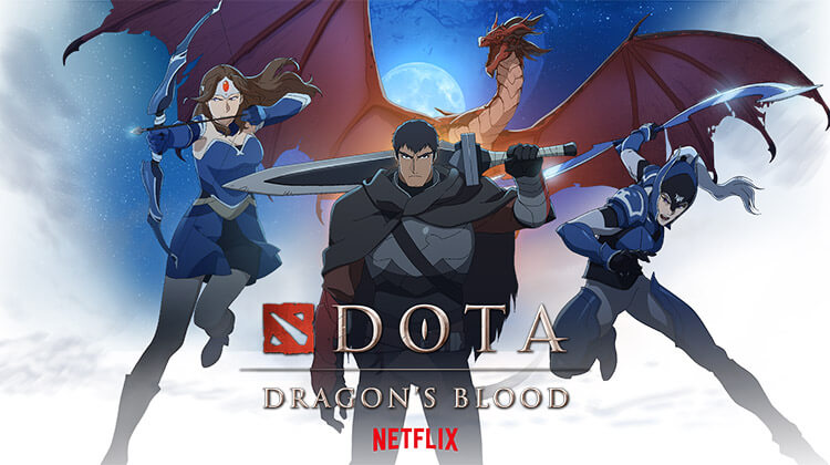 "netflix dota dizisi dragons blood - Dota2'nin Anime Dizisi ""DOTA: Dragon's Blood"" Netflix'de Yayında!"