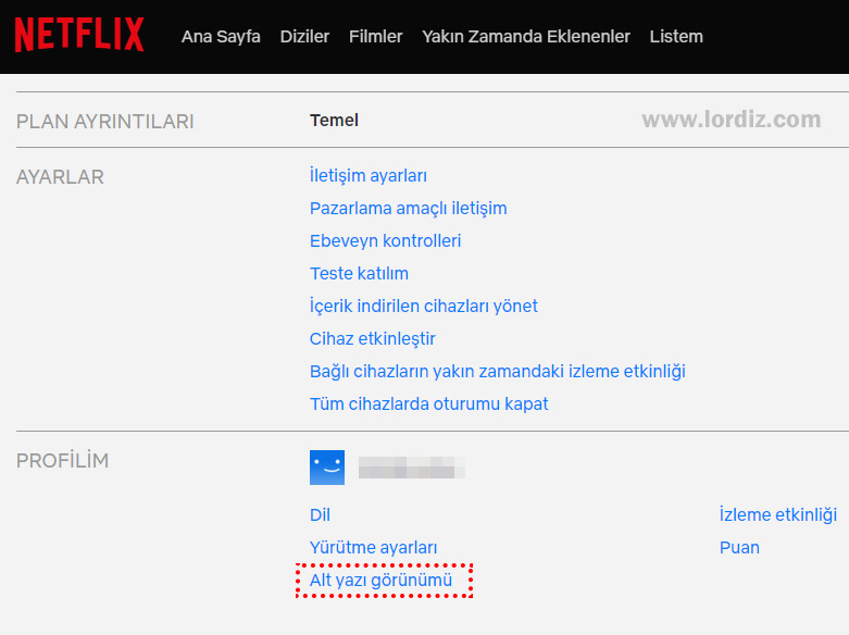 netflix hesap ayarlari altyazi - Netflix'de Altyazı Ayarları ve Altyazı Boyutu Büyütme!
