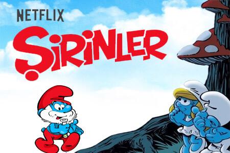 """""""Şirinler"""" Tüm Bölümleri ile Türkçe Dublajlı Olarak Netflix'de!"""