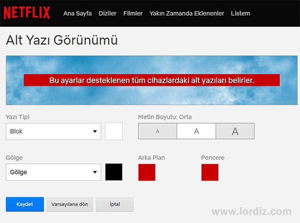 netflix web altyazi ayarlari - Netflix'de Altyazı Ayarları ve Altyazı Boyutu Büyütme!