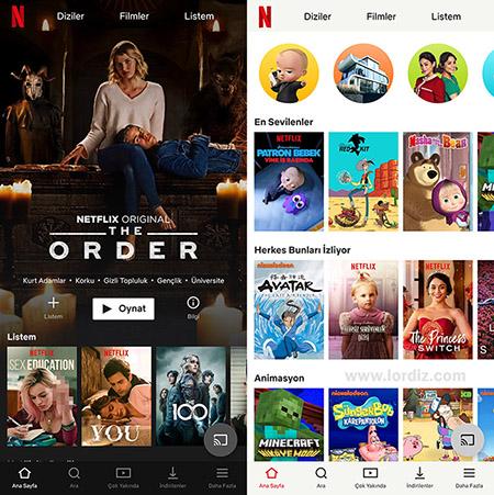 Netflix'in Yetişkin İçerikleri için Pin ile Aile ve Çocuk Koruması Sağlama - sinema