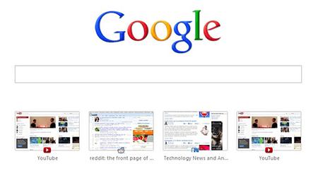 Google Chrome Yeni Sekme Sayfasını Değiştirme