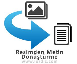 Resim Üzerindeki Yazıyı Kopyalama / Dönüştürme